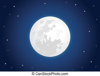 Bílý měsíc