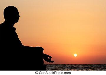 být, přemysleně, grafické pozadí., lotus, slunit se, sedění, nebe, mládě, zbabělý, oceán, rovněž, večer, sázení, konzerva, postavení, pomeranč, příč.min. od see, rozjímání, pláž, pozadí, voják