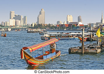 bangkok, řeka