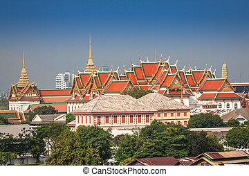 bangkok, hlavní palác, thajsko