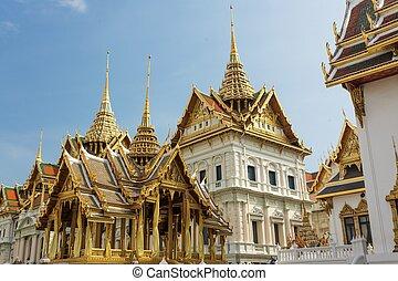 bangkok, královský palác