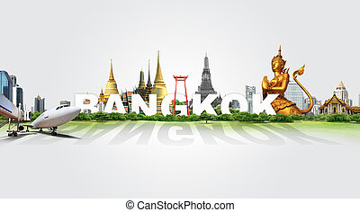 bangkok, pohybovat se, pojem