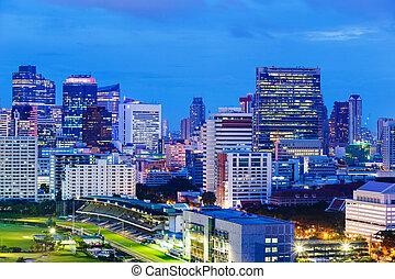 Bangkokská noc