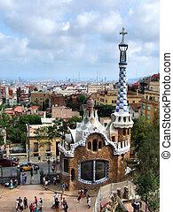 Barcelonská památka - park
