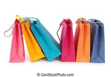 Barevné nákupní tašky