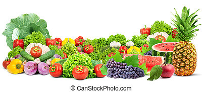 Barevné ovoce a zelenina