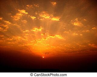 Barevné slunce