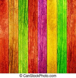 Barevný dřevěný pozadí