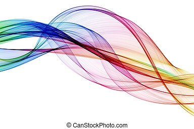 Barva abstraktní kompozice