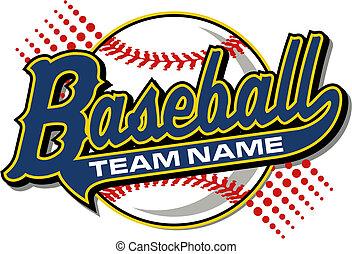 baseball, chvost, design