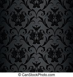 Bezobělá černá tapeta
