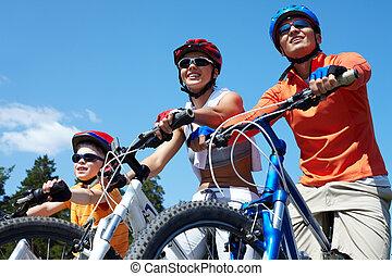 bicycles, rodina
