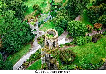 blarney vě, irsko