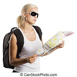 Blond turista