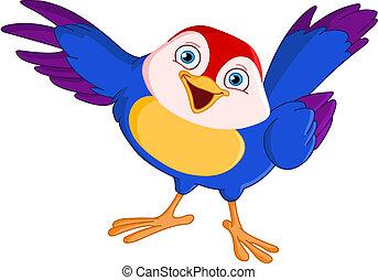 Bodající pták