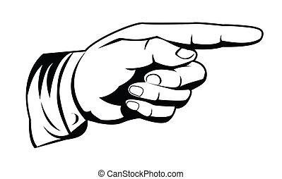 Bodající ruka