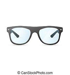 brýle, bederní sukně