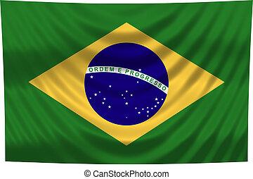 brazílie, celostátní vlaječka