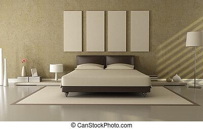 Brown a ložnice