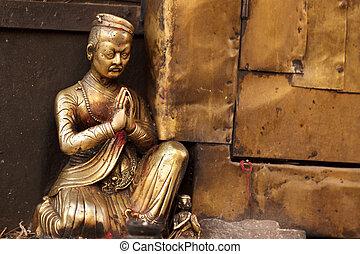 buddhismus, socha