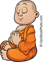 buddhista mnich