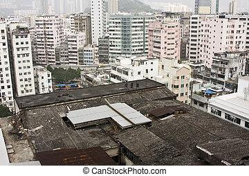 budova, (kowloon, hong, tsui, -, kong), sha, apartement, tsim