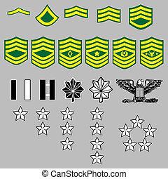 bujný, nám, insignie, vojsko