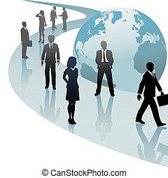 business národ, budoucí, pokrok, společnost, cesta