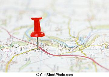 Cíl na mapě