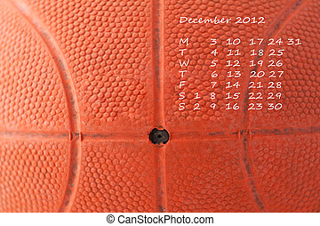 Calendar 2012 december