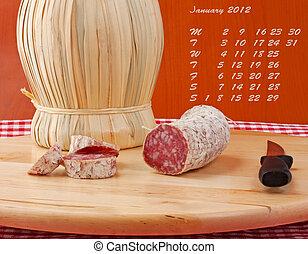 Calendar 2012 january