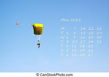Calendar 2012 může