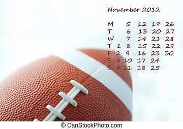 Calendar 2012 november