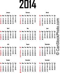 Calendar na rok