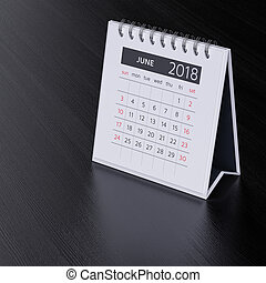 Calendar pro june 2018