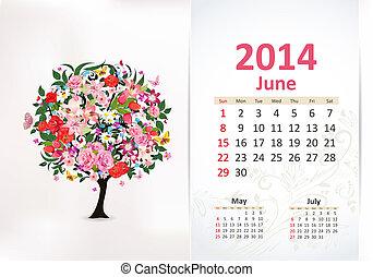 Calendar pro rok, pone