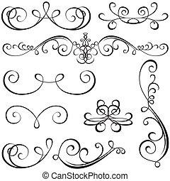 Calligrafické prvky
