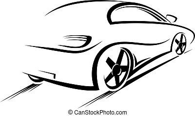 Car sihouette