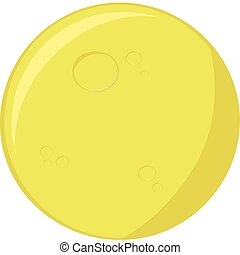 Cartoon Měsíc