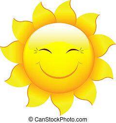 Cartoon Sun