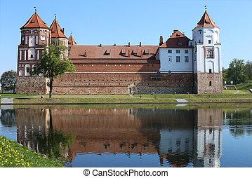 Castle ve městě