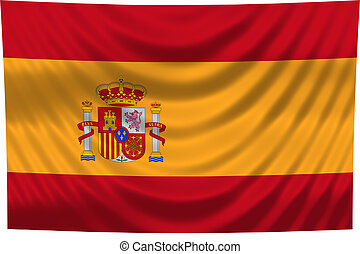 celostátní vlaječka, španělsko
