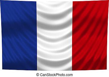 celostátní vlaječka, francie