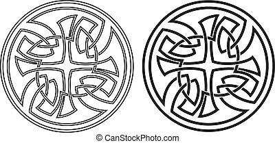 Celtickej vektor, ornament. Připravit