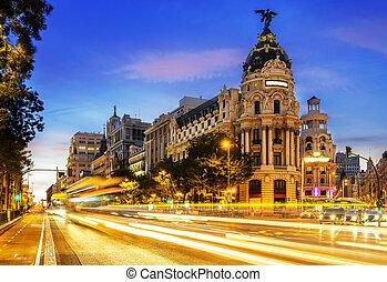 Centrum Madridu, babička vis spain