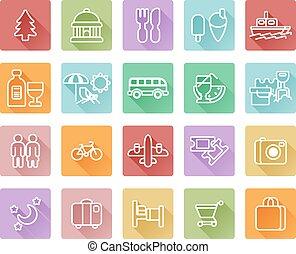 Cestovní a turistické ikony
