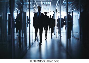 chůze, business národ