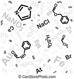chemikálie, grafické pozadí