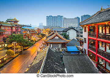 Chengdu Cityscape