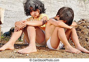 Chudoba a chudokrevnost na rčení dětí